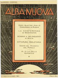 Alba Nuova. Rivista Mensuale di Critica e di Pensiero. Numero Doppio (Oct-Nov 1921)