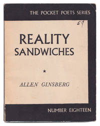 image of Reality Sandwiches: 1953-60 (Pocket Poets Series, 18)