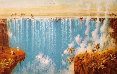 To the Victoria Falls of Zambesi;...