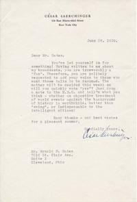 Typed Letter Signed / Signed Pamphlet