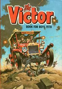 image of The Victor Book for Boys 1978