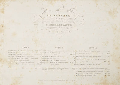 Napoli: B. Girard e Ci. , 1843. Oblong folio. Vellum-backed and edged boards with maroon cloth laid ...
