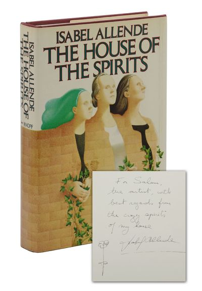 New York: Alfred A. Knopf, 1985. First Edition. First American edition. Signed by Isabel Allende on ...