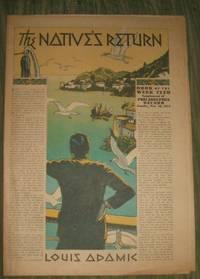 image of The Native's return      Philadelphia Record Supplement November 18 1934