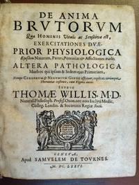 De anima brutorum quae hominis vitalis ac sensitiva est, exercitiones duae....  [BOUND WITH]  Pharmaceutice rationalis sive Diatriba de medicamentorum operationibus in humano corpore (parts I and II).