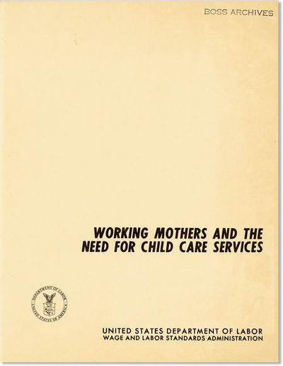 : United States Department of Labor, 1968. First Edition. Paperback. Quarto (26cm.); publisher's pea...