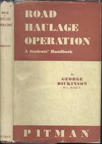 Road Haulage Operation A Students Handbook