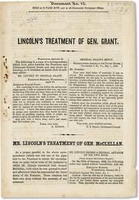 Lincoln's Treatment of Gen. Grant