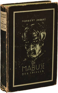 Dr. Mabuse Der Spieler [The Gambler] (First German Edition, and True First)