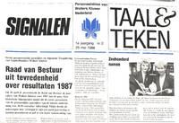 Taal & Teken. Personeelsblad Wolters Kluwer Nederland. 1985-1988. The  Collection.
