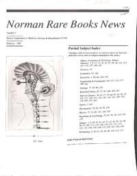 Norman Rare Book News Number 5/1988.