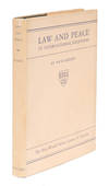 View Image 1 of 2 for Law and Peace in International Relations. First Edition. Dust Jacket Inventory #72403