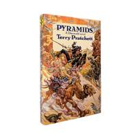 Pyramids by Terry Pratchett - 1st Edition 1st Printing - 1989 - from Brought to Book Ltd and Biblio.co.uk