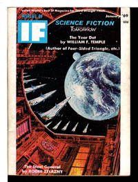 """IN THE SHIELD"" in Worlds of If Science Fiction Magazine, January 1969, Vol. 19, No. 1, Issue 134."