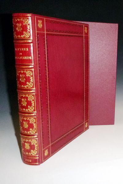 Liege/Paris: Benard/ Georges Courville, 1936. Limited Edition. Quarto. Half-title, 410 pages, 12 spl...