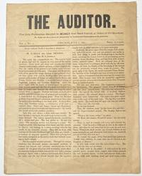 image of The Auditor. Vol. 1 no. 7 (July 7, 1891) [first issue under this title]