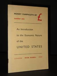 Money Pamphlets by £. Number One: An Introduction to the Economic Nature of the United States by Ezra Pound / Carmine Amore (Trans.) - Paperback - 1st Edition  - 1950 - from Tarrington Books and Biblio.com
