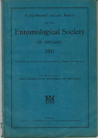 image of FORTY-SECOND ANNUAL REPORT OF THE ENTOMOLOGICAL SOCIETY OF ONTARIO 1911.