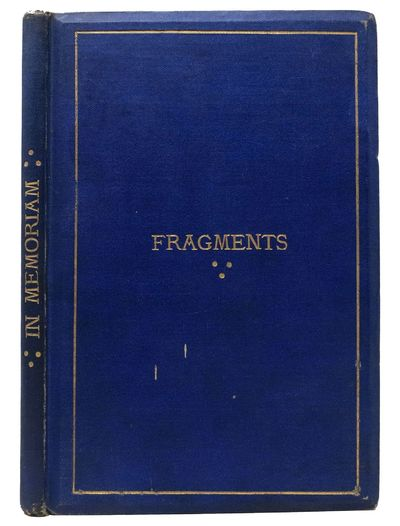 Bath: Printed by F. Curtis, Excelsior Steam Printing Offices, 9, Bridge Street, 1876. 1st Edition. O...
