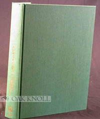 Hanover: University Press of New England for the Committee for a New England Bibliography, 1983. clo...