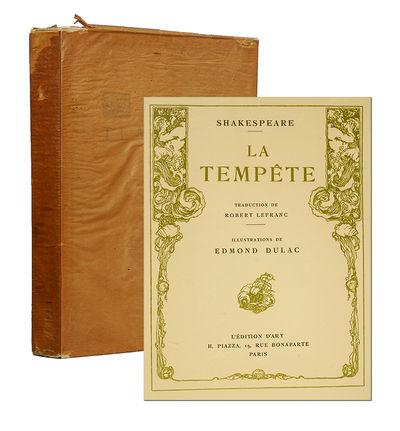 Paris: L'Édition D'Art H. Piazza, 1912. First edition in French. First edition in French under this...