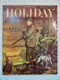Holiday Magazine Nov. 1948 Young Marilyn Monroe Argoflex Camera Ad; Game Birds, Texas,