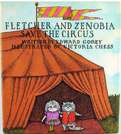 NY: Dodd, Mead, 1971. Chess, Victoria. First edition. Signed by Gorey. Illustrated with color plates...