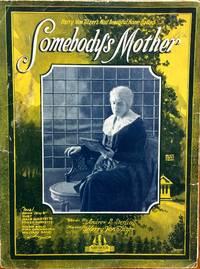 SOMEBODYS MOTHER HARRY TILZER 1921 SHEET MUSIC SHEET MUSIC 208