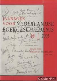 Jaarboek voor Nederlandse boekgeschiedenis 10/2003