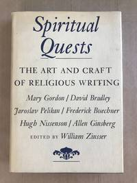 Spiritual quests; the art and craft of religious writing