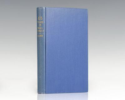 Miami, FL: W.D. Gann Publishing, 1949. First edition of Gann's classic 45 Years in Wall Street. Octa...