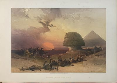 London: F.G. Moon. unbound. Louis Haghe. View. Tinted lithograph. Image including text measures 14.2...
