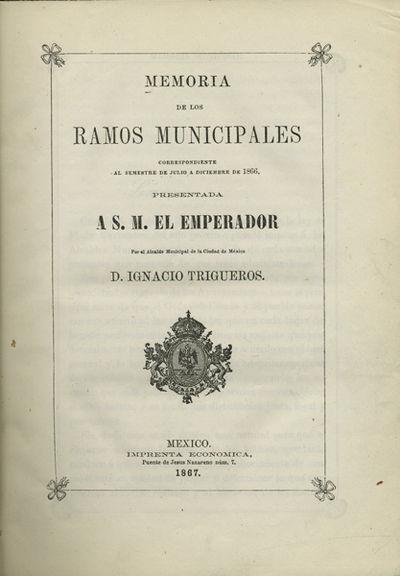 [Report on La Ciudad de México]...