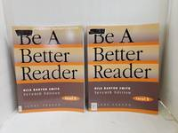 Be a Better Reader Level E Student Workbook and Annotated Teacher's Edition by Nila Banton Smith - Paperback - 1998-05-06 - from Renee Scriver and Biblio.com