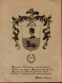 image of TOSI FAMILY GENEALOGY Family Genealogy