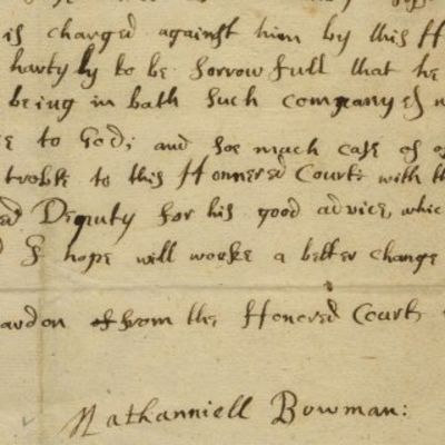 1660. Harvard The earliest document relating to Harvard we have had, and the first we've seen on t...