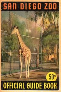 San Diego, 1947. Third edition, small 8vo, pp. xviii, , 171; folding color lithograph map of the zoo...