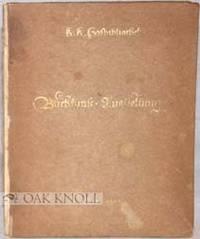 Wien: Hofbibliothek, 1916. paper-covered boards. Hofbibliothek. 12mo. paper-covered boards. (v), vii...