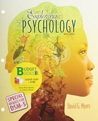 image of Exploring Psychology: Special Update for DSM-5, 9th Edition