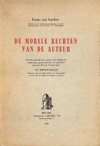 De Morele rechten Van De Auteur