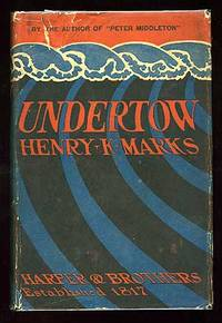 New York: Harper and Brothers, 1923. Hardcover. Near Fine/Very Good. First edition. Light wear to th...