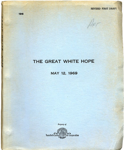 GREAT WHITE HOPE, THE (May 12, 1969)...