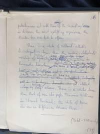 Vandalism  Ayn Rand Typescript/Manuscript