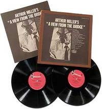 "[Vinyl Record]: Arthur Miller's ""A View from the Bridge"""