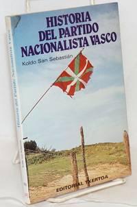 image of Historia del Partido Nacionalista Vasco