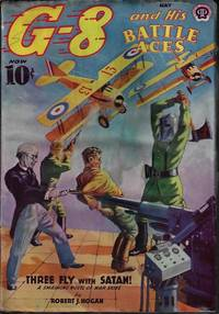 """G-8 AND HIS BATTLE ACES: May 1939 (""""Three Fly with Satan!"""")"""