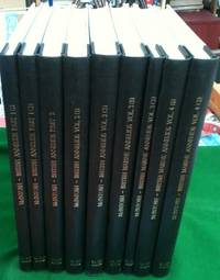 A Monograph of the British Annelids COMPLETE with A Monograph of British Marine Annelids, All 4 volumes bound as 9