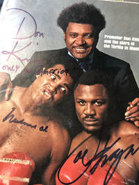 Only in America: Sports Illustrated SIGNED by Muhammed Ali, Don King, Joe Frasier