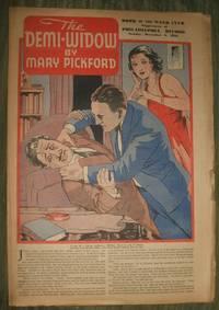 image of The Demi-Widow       Philadelphia Record Supplement December 6, 1936