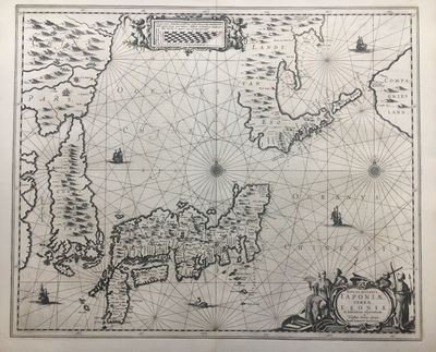 1658. unbound. very good. Map. Engraving. 18